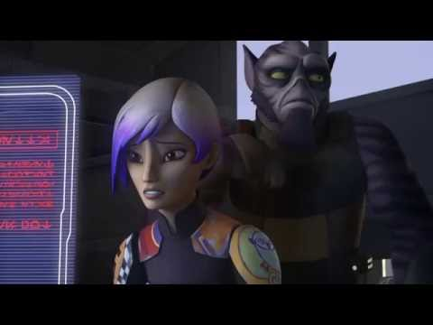 connectYoutube - Star Wars Rebels  - Tráiler Temporada 3 -  Doblaje Latino (Thrawn)