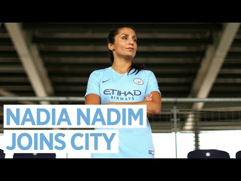NADIA NADIM TO JOIN MAN CITY WOMEN | From Afghanistan to Manchester | Exclusive First Interview