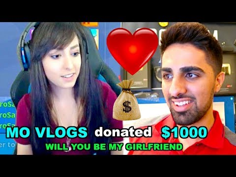 Donating Money to Attractive Twitch Streamers to be my Girlfriend ...