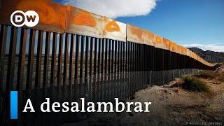 Biden detiene la construcción del muro