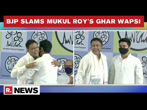 'Mukul Roy Is A Criminal' Says BJP's Saumitra Khan After His Return To TMC