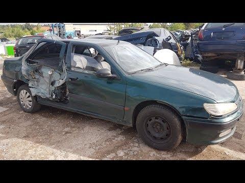 Peugeot 406 1996 m dalys
