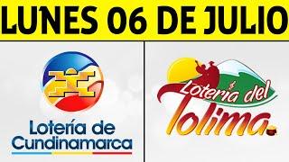 Resultados Lotería de CUNDINAMARCA y TOLIMA Lunes 6 de Julio de 2020 | PREMIO MAYOR ????????????