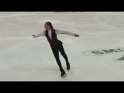 Part of 6 Minute Warm Up of Final Group - 2018 U.S. Nationals, Men's Short Program, 2018.01.04