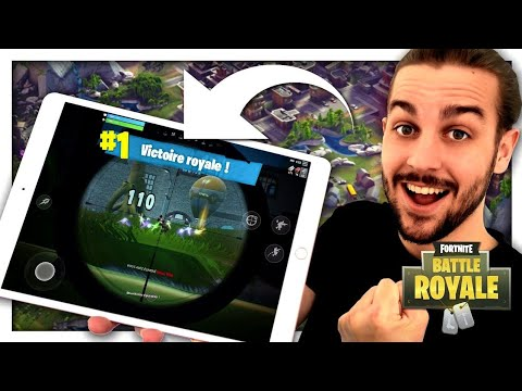 connectYoutube - TOP 1 SUR IPAD ! FORTNITE MOBILE FR
