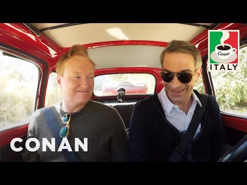 connectYoutube - Conan & Jordan Schlansky's Italian Road Trip