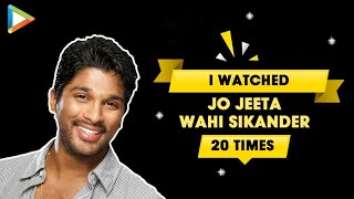 Allu Arjun REVEALS  3 Hindi films that he can watch anytime | Prabhas | Chiranjeevi - HUNGAMA