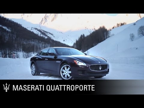 Maserati Quattroporte S Q4 - with four-wheel drive system