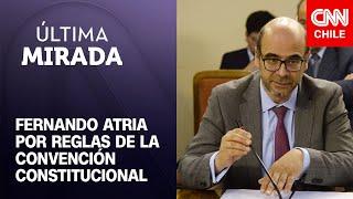 Fernando Atria se refiere a cómo debiese operar la Convención Constitucional