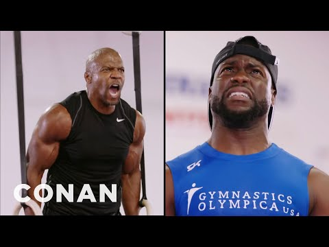 connectYoutube - Terry Crews: Kevin Hart Tried To Play Mind Games With Me  - CONAN on TBS