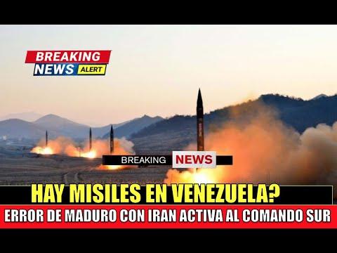 Detectan misiles MADURO cometio un error