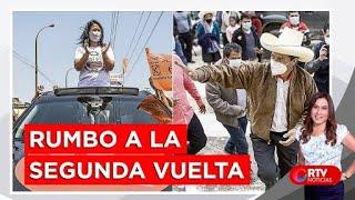 Perú Libre y Fuerza Popular rumbo a la segunda vuelta - RTV Noticias