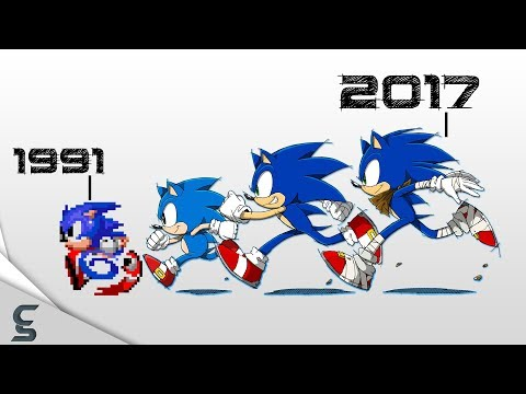 connectYoutube - The Great History of Sonic w/ 30 Fun Facts!