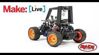 Make: Live - Raspberry Pi Robo Car