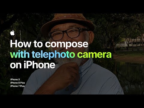 How to compose with telephoto camera on iPhone — Apple