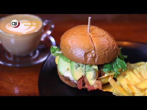Receta Ají: Hamburguesa Baba Budan   Wrap de pollo