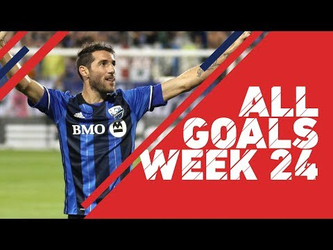 Piatti igniting Montreal surge | All Goals, Week 24