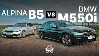 Alpina B5 2020 против BMW M550i