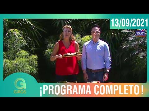 Giros: Programa del 13 de Setiembre del 2021