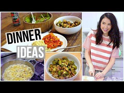 connectYoutube - 3 Healthy Dinner ideas! Meal Prep!