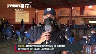 Jinotega: Bomberos fortalecen habilidades para emergencias - Nicaragua