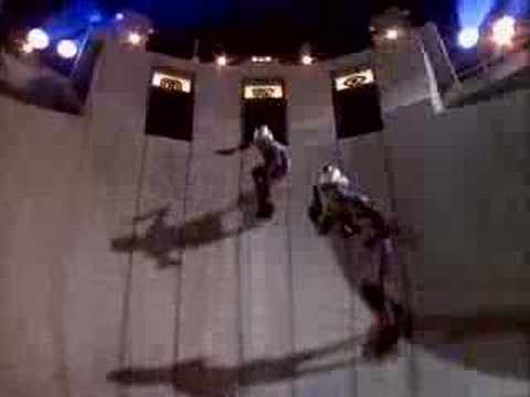 Marine land, CA laser tag commercial shoot ramp '87