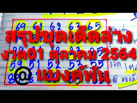 สรุปชุดเด่น2ตัวล่าง(Lotto-Thai