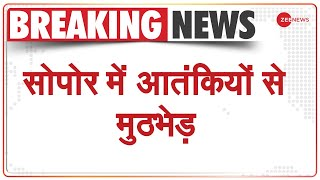 जम्मू-कश्मीर: सोपोर मुठभेड़ में दो आतंकी मारे गए   Jammu And Kashmir   Sopore   Latest Hindi News - ZEENEWS