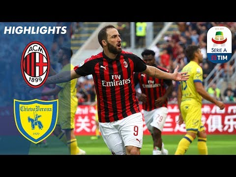 أهداف مباراة ميلان وكييفو 3-1 ( البطولة الايطالية )