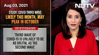 Covid-19 News: 3rd Wave May Peak in October, Cases Will Remain Below 1 Lakh Daily: Report - NDTV