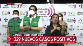 Santa Cruz reporta 329 nuevos positivos de Covid-19 y se acerca a los 35 mil