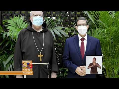 Agradece Rodríguez Parrilla declaraciones de obispos católicos de EE.UU. a favor de Cuba