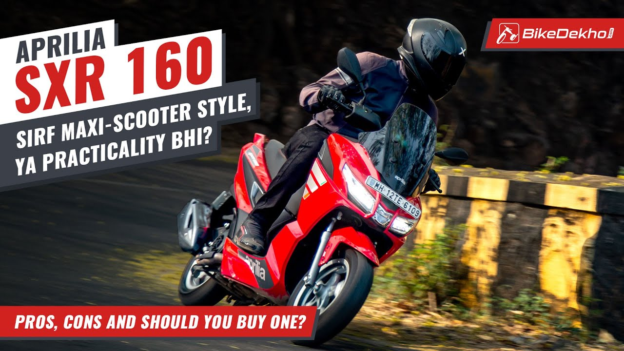 Aprilia SXR 160: Pros, Cons and Should You Buy One | Sporty Performer or Comfy Cruiser? | In Hindi