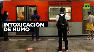 Incendio en las oficinas del metro de México deja un fallecido y 6 líneas cerradas