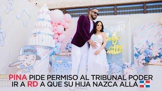 Pina quiere q su hija nazca en RD???????? ya q nacería el día que su padre murió ¿ Tribunal lo dejará