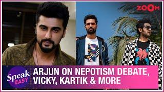 Arjun Kapoor expresses his views on nepotism debate, Vicky Kaushal, Kartik Aaryan & more - ZOOMDEKHO