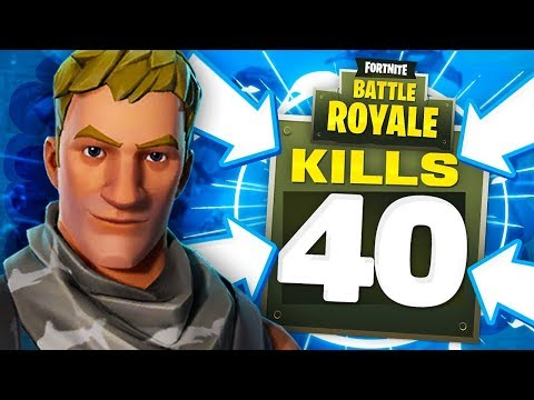 connectYoutube - 40 KILLS IN A Fortnite Battle Royale Match!