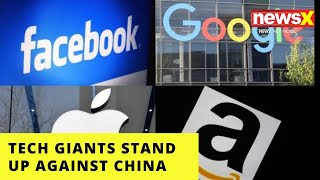 Tech Giants Stand Up Against China | 'Wont accept User Data Requests in HK' | NewsX - NEWSXLIVE