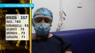 Colombia llegó a 23.003 diagnósticos positivos de COVID-19 [Noticias] - Telemedellín