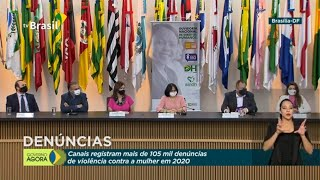 #AoVivo: Coletiva de imprensa sobre violência contra mulher