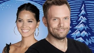 Joel McHale Talks Community (With Olivia Munn on His Lap) - WonderCon 2014