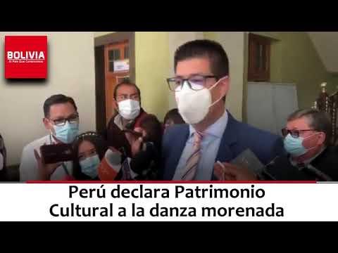 BOLIVIA RECLAMA AL PERU LA MORENADA