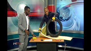 DIY on NOW - Tyre Furniture Step 1