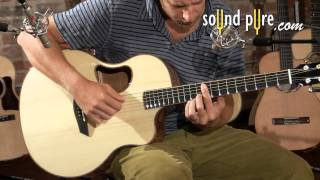 McPherson 3.5XP Adirondack/Flamed Acacia Acoustic Guitar