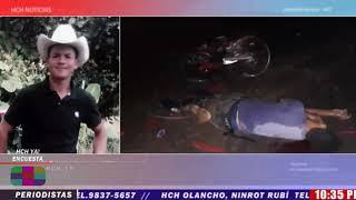 Fatal accidente vial deja una persona muerta en LA Unión, Olancho