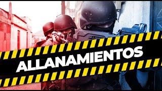 Reportan cuatro capturas en operativos de allanamientos