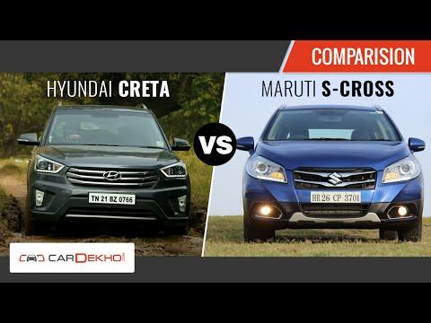Exclusive Review  S-Cross Vs Creta   CarDekho.com