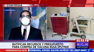 Gobierno ya tiene contrato para comprar 4.2 millones de vacunas Sputnik V