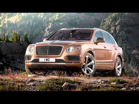 Frankfurt Motor Show 2015: Bentley Bentayga unveiled