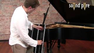 How to Record Grand Piano -- Earthworks PM40 PianoMic